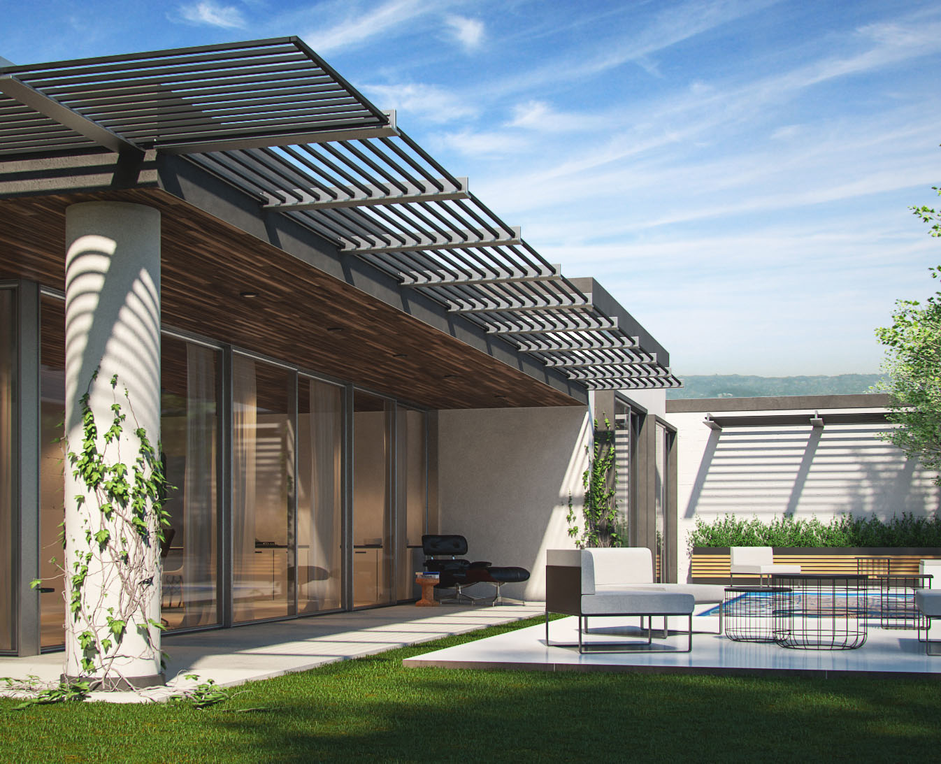 V Ray Tutorial For Residential Exterior In 3dsmax Aleso3d